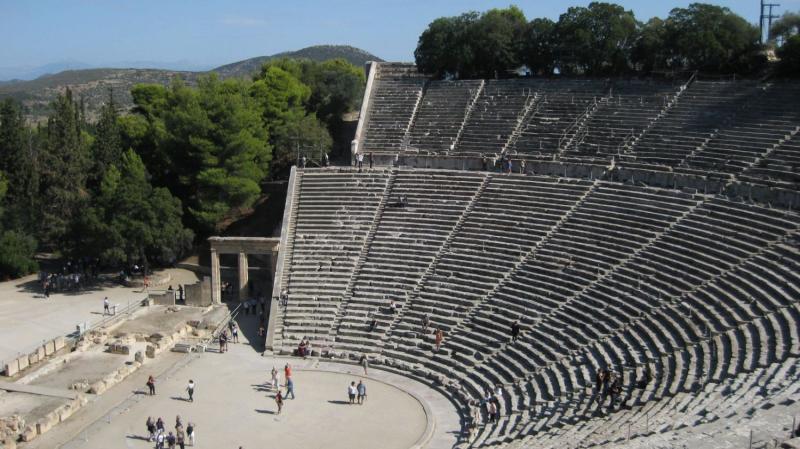 Görögország körutazás, Epidaurosz 4