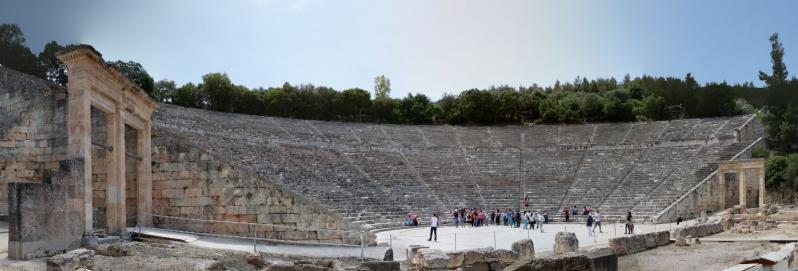 Görögország városlátogatás, Epidaurosz 3