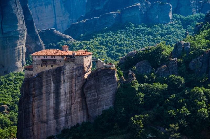 Görögország körutazás, Meteórák 8