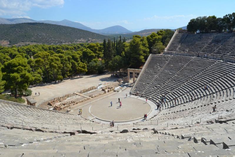 Görögország városlátogatás, Epidaurosz 1