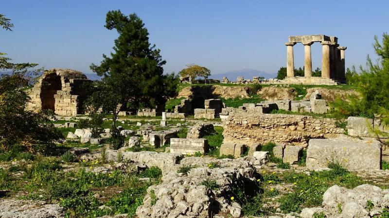 Görögország városlátogatás, Korinthosz 3