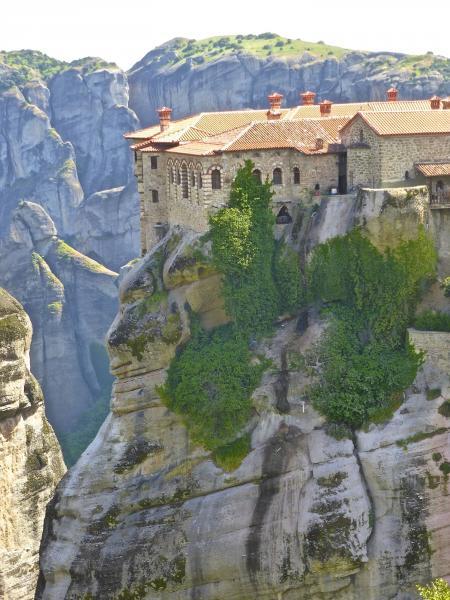 Görögország körutazás, Meteórák 4