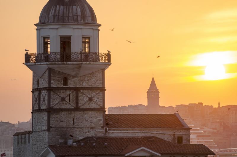 Isztambul, a Boszporusz metropolisza - repülővel