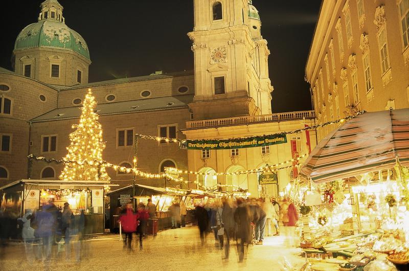 Salzburgi karácsonyi vásár