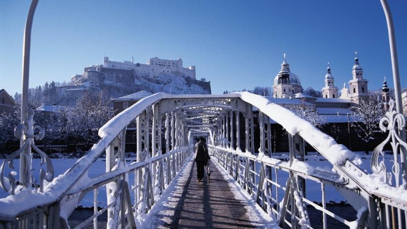 Salzburgi karácsonyi híd