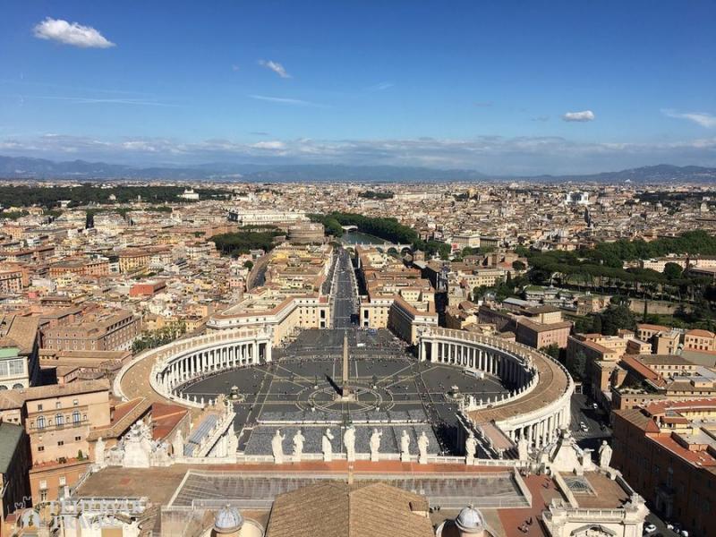 Szilveszter Rómában látogatással Assisibe és Firenzébe