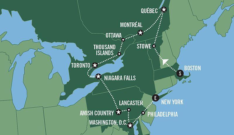 Keleti Part és Kanada