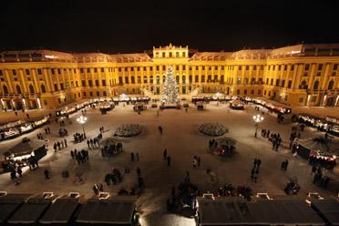 Advent Bécsben és Schönnbrunnban