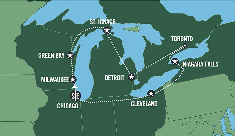 THE GREAT LAKES - Fly & Drive program