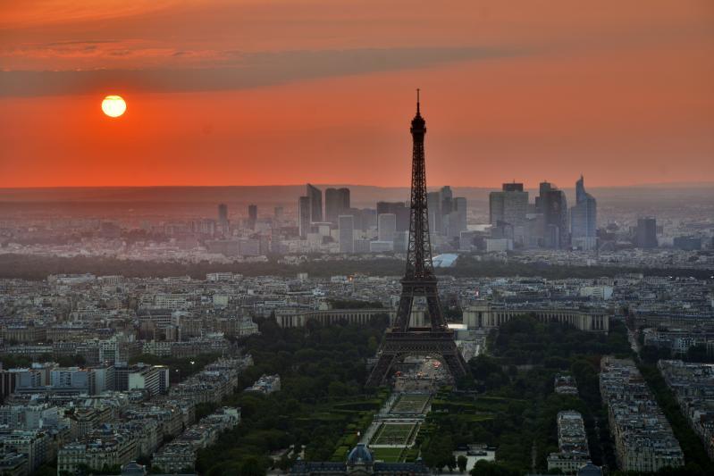 Franciaország látkép