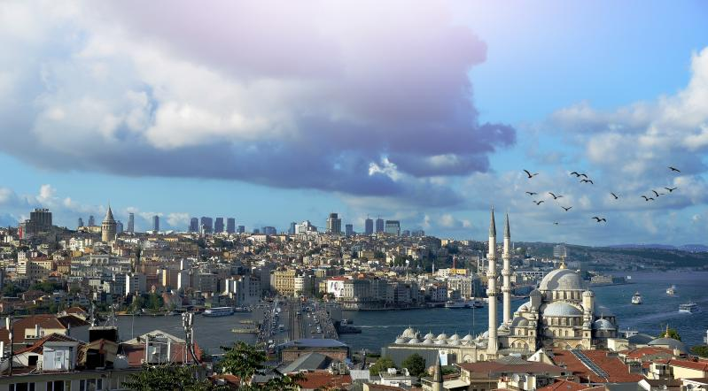 Isztambuli kilátás