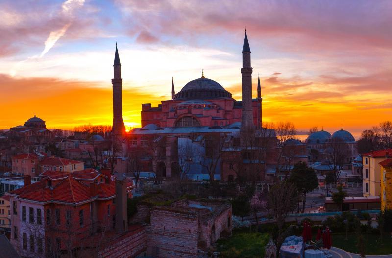 Törökországi naplemente