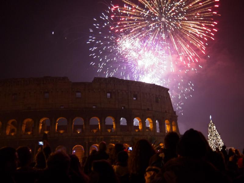 Tűzijáték Rómában|2