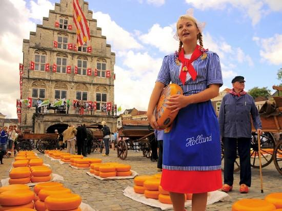 Benelux Körút - sajt, tulipán, szélmalom