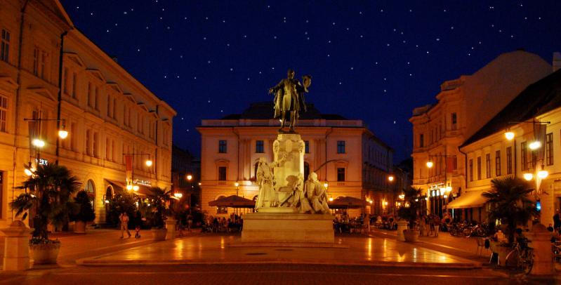 Szeged éjszaka