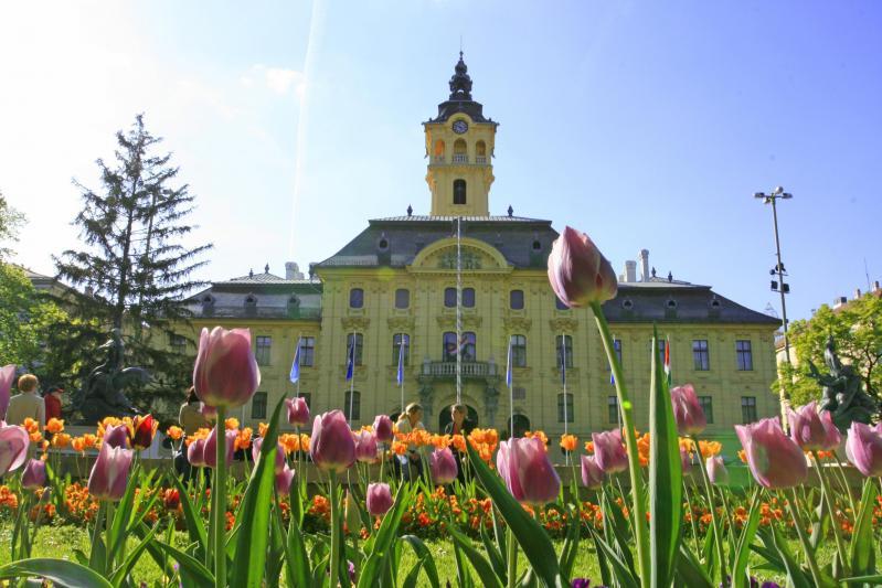 Szeged tavasszal