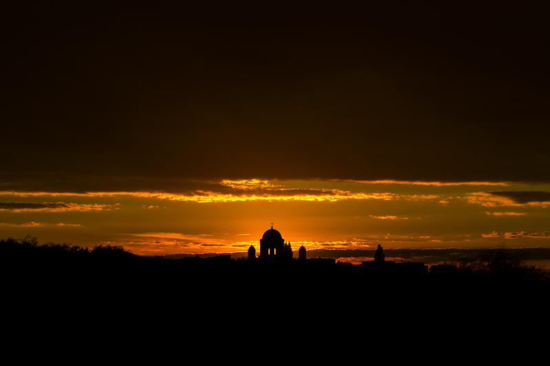 Duna jobb partja|naplemente
