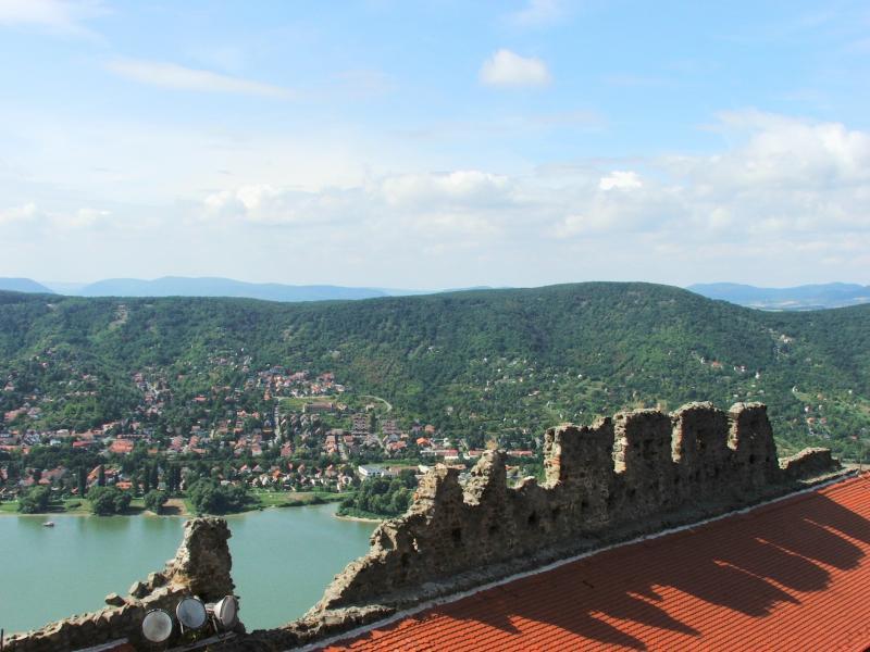 Duna jobb partjáról kilátás