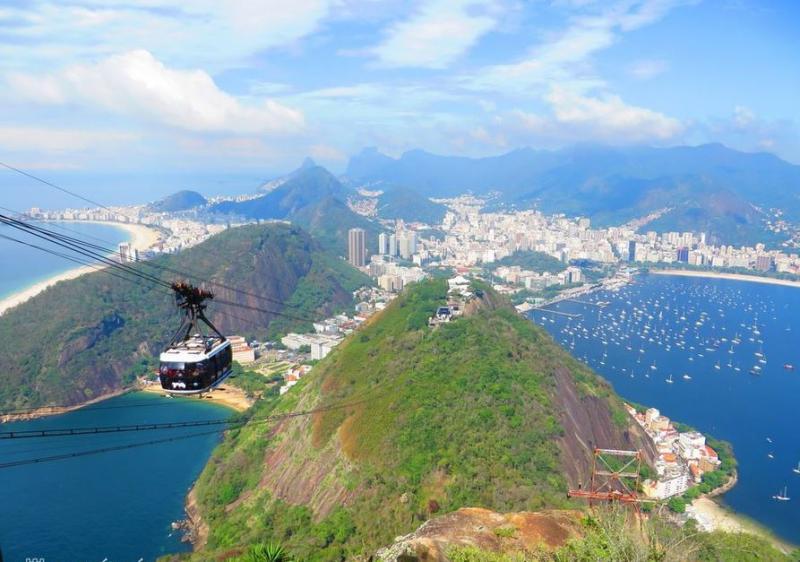 Buenos Airestől Rio De Janeiróig kirándulással Montevideóba és az Iguassuhoz