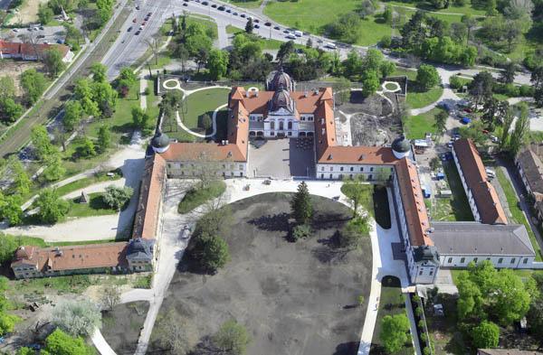 Gödöllő - Grassalkovich-kastély | Légifotó 2
