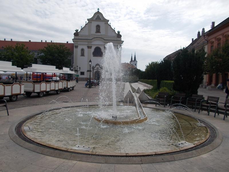 Vác - Március 15. tér