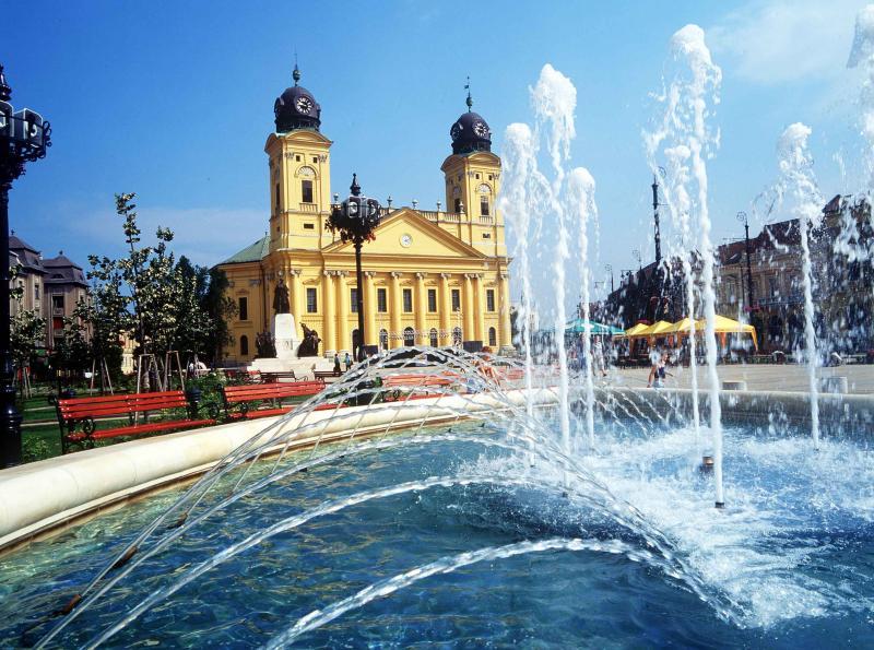 Debreceni szökőkút