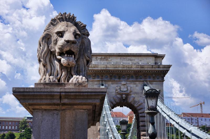 Budapest oroszlán