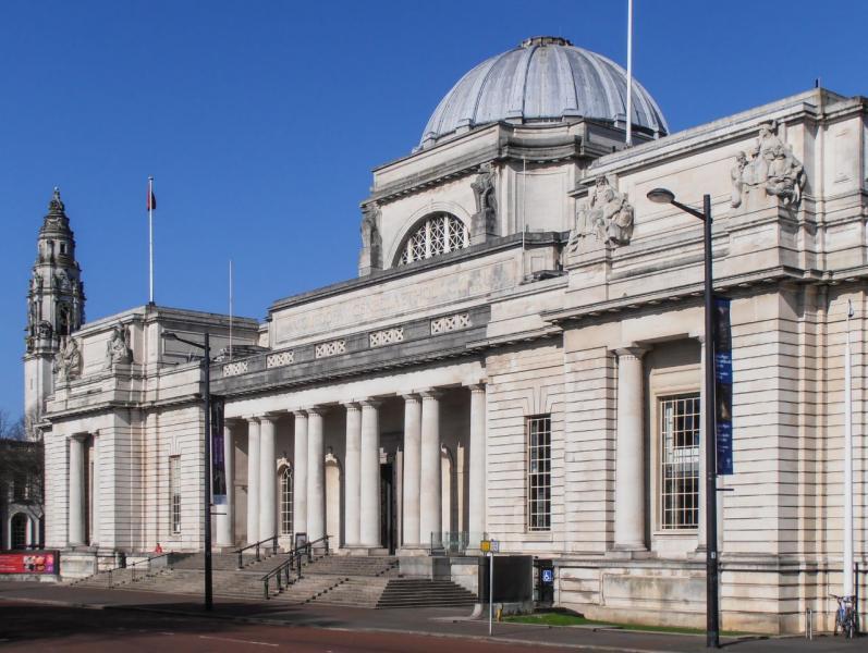 Cardiff - Nemzeti Múzeum