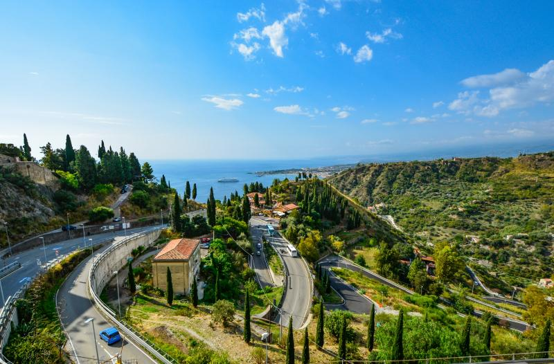 Taormina-Szicília