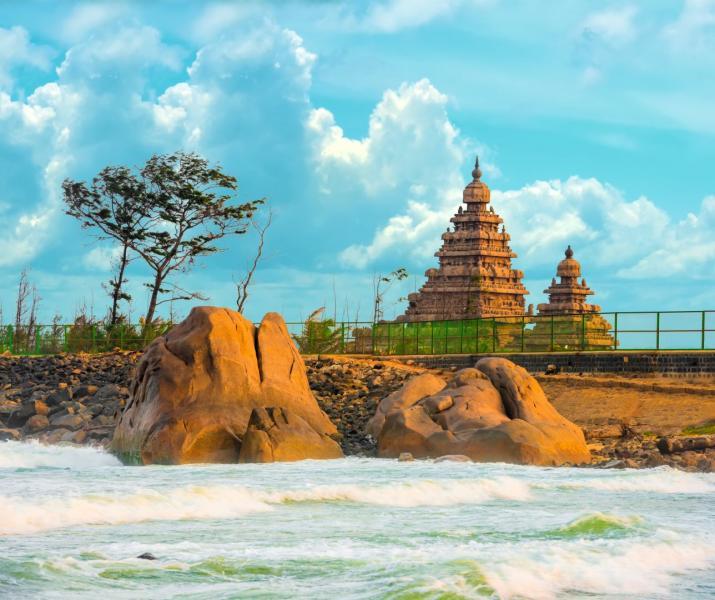 Nagy Dél-India körutazás pihenéssel Kovalam tengerpartján