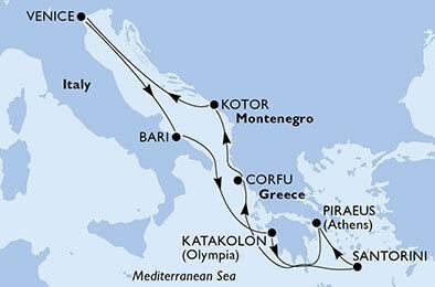 Csoportos hajóút - Görög istenek és napsütötte szigetek