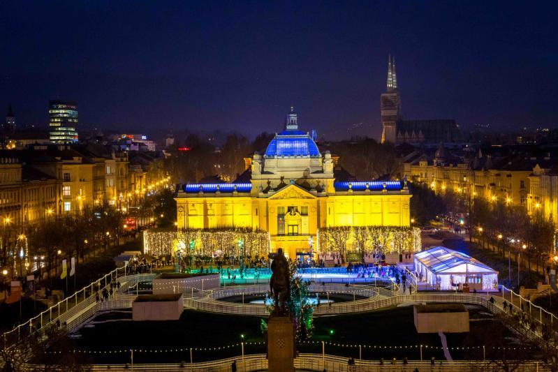Adventi fények Zágrábban|8