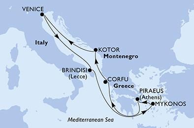 Csoportos hajóút - Az ókori Görögország nyomában pünkösdkor