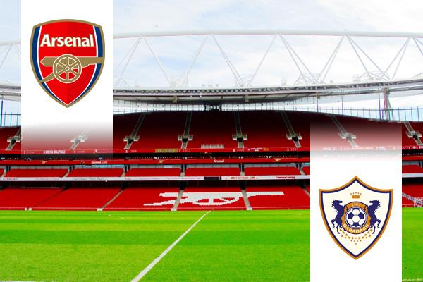 Arsenal - Qarabag EL repülős út