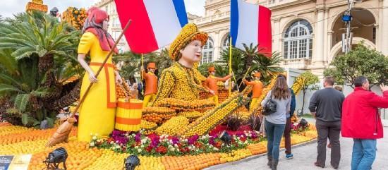 Nizza virágkarnevál - Menton citrusfesztivál - autóbusszal