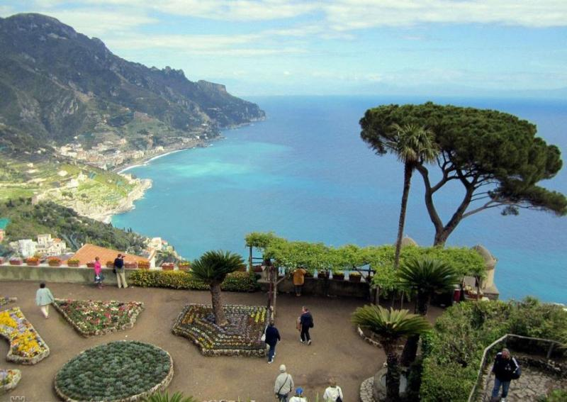 Szicília, Capri, Pompéji