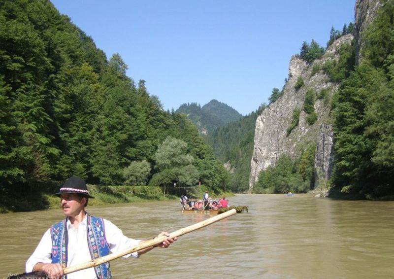 Magas-Tátra, Krakkó, Dunajec-áttörés