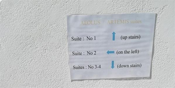 Artemis Suites repülővel