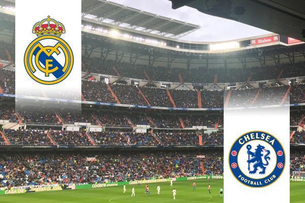 Real Madrid Leyendas - Chelsea Legends repülős út