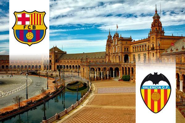 Barcelona - Valencia kupadöntő repülős út