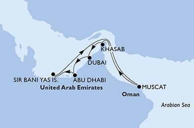 Csoportos hajóút - Fedezze fel az arab kincseket luxushajóval Dubaiból!