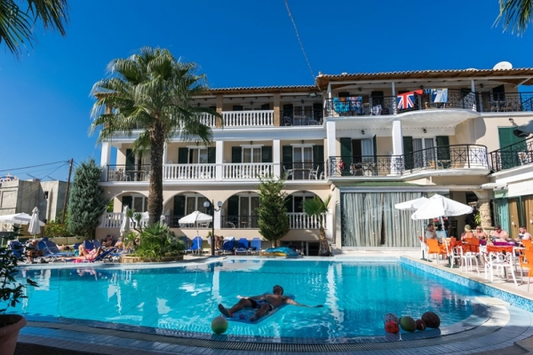 Bomo Zante Plaza Hotel & Apartments ***