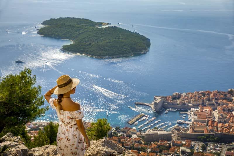 Lokrum és Dubrovnik