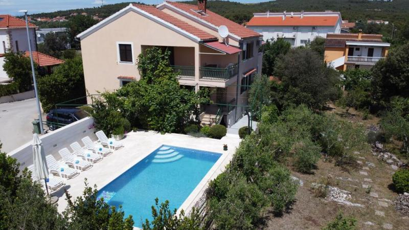 Marija Apartmanház - Bibinje - Nyaralás Zadarban
