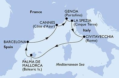 Csoportos hajóút - Mediterrán gyöngyszemek Húsvétkor