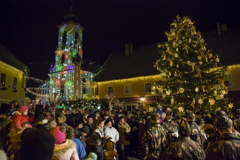 Karácsony a festői Dunakanyarban