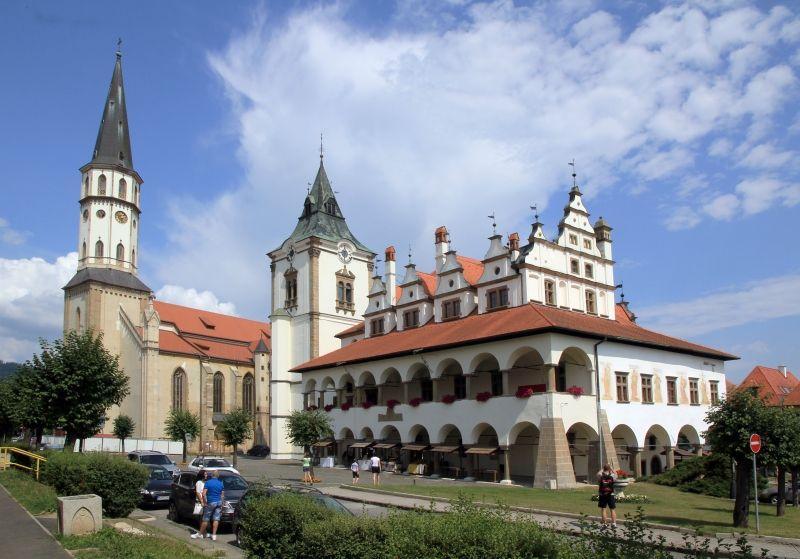 Szlovákia történelmi városai -  könnyed túrával a természetben 2021