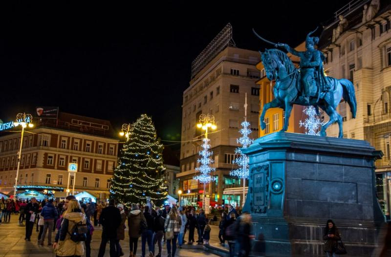 Az angyalok városa & Zágráb adventi pompában